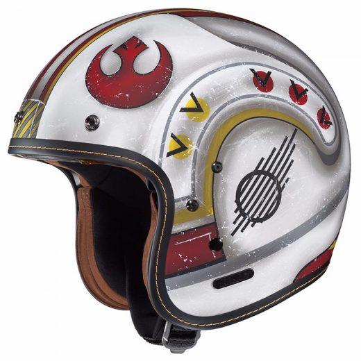 Casque moto star wars