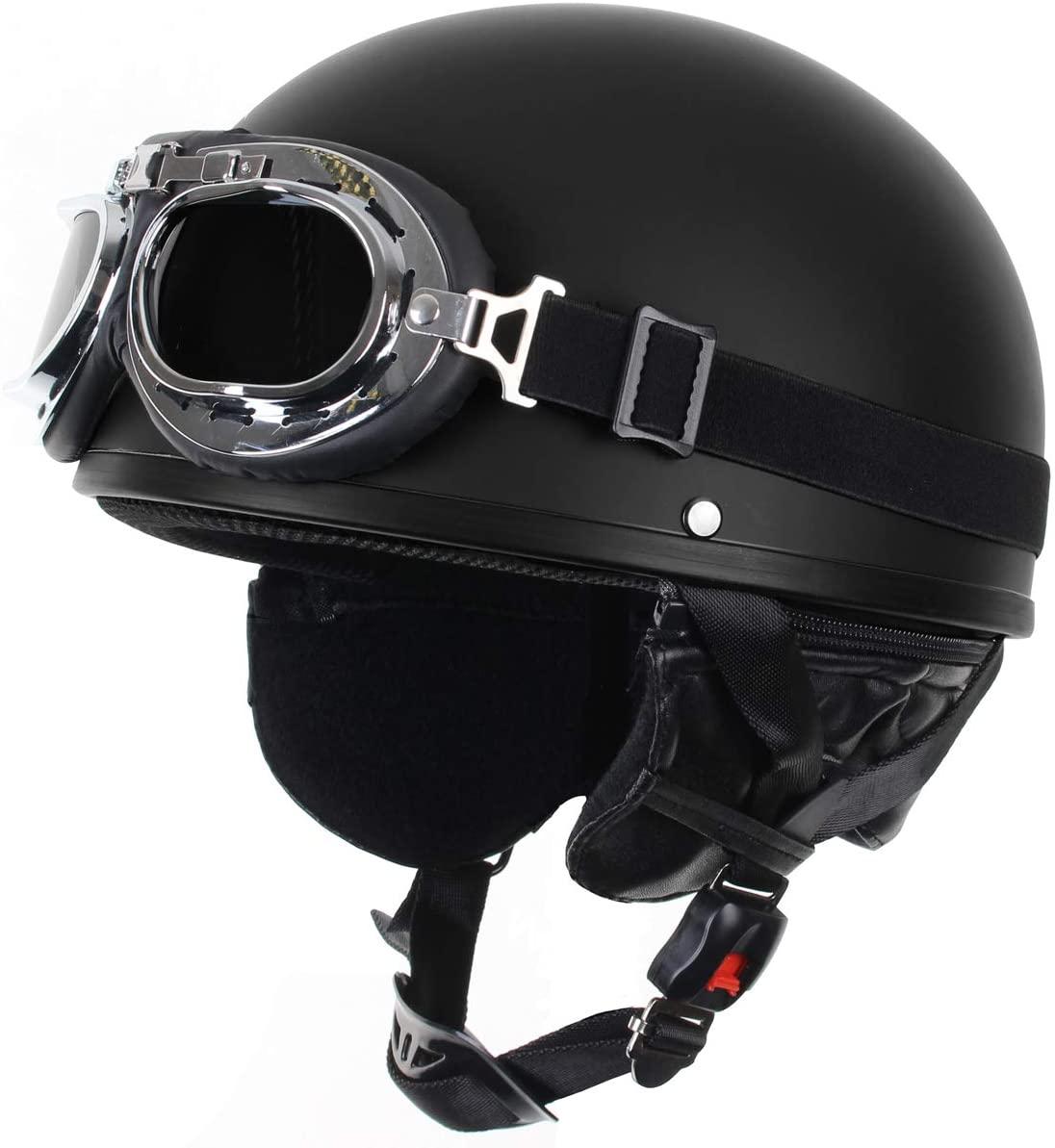 casque Casque moto aviateur